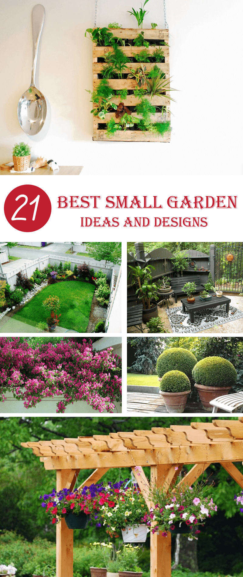 21 Perfect Small Garden Ideas And Designsthat Will Make Your House