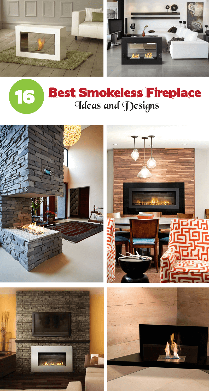 best smokeless fireplace ideas and designs