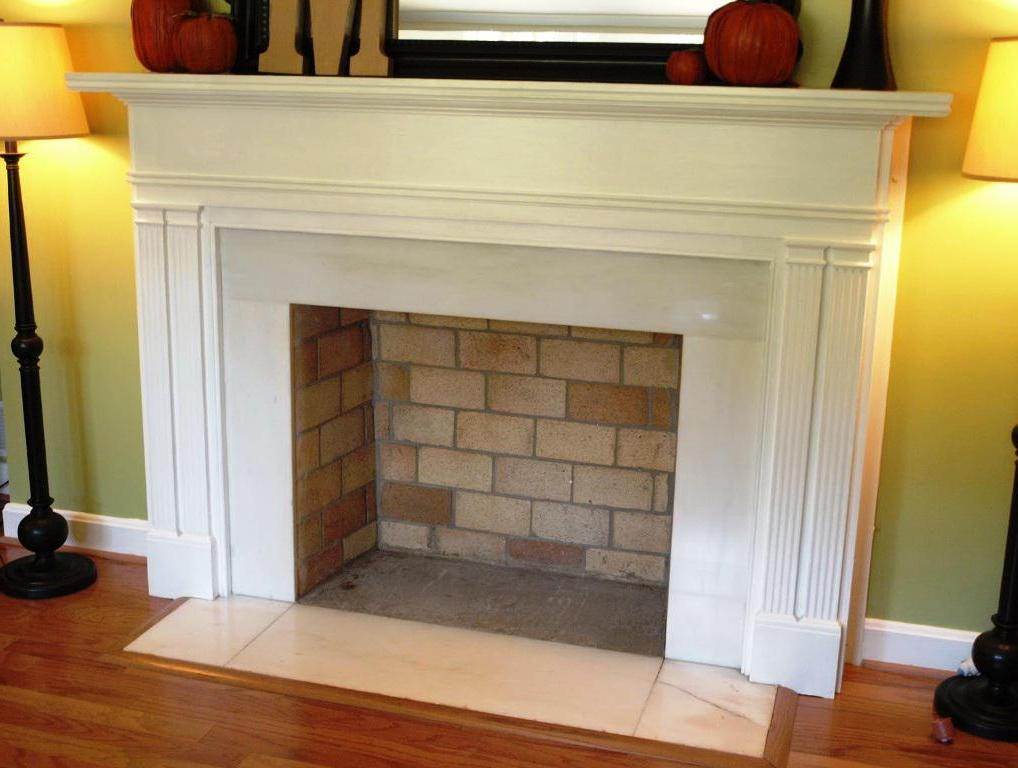 brick fireplace mantels ideas