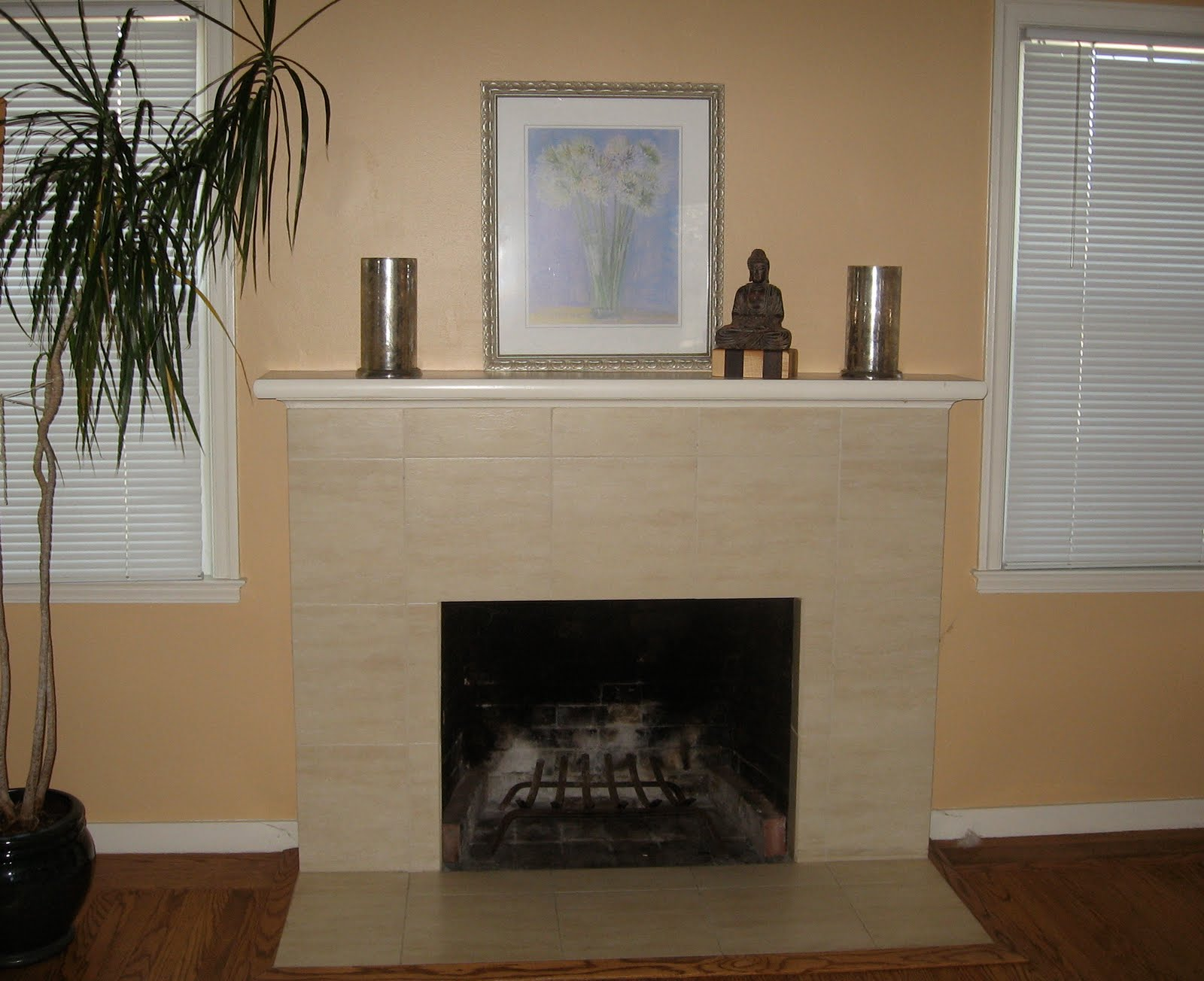 cream marble fireplace with white shelf fireplace ideas