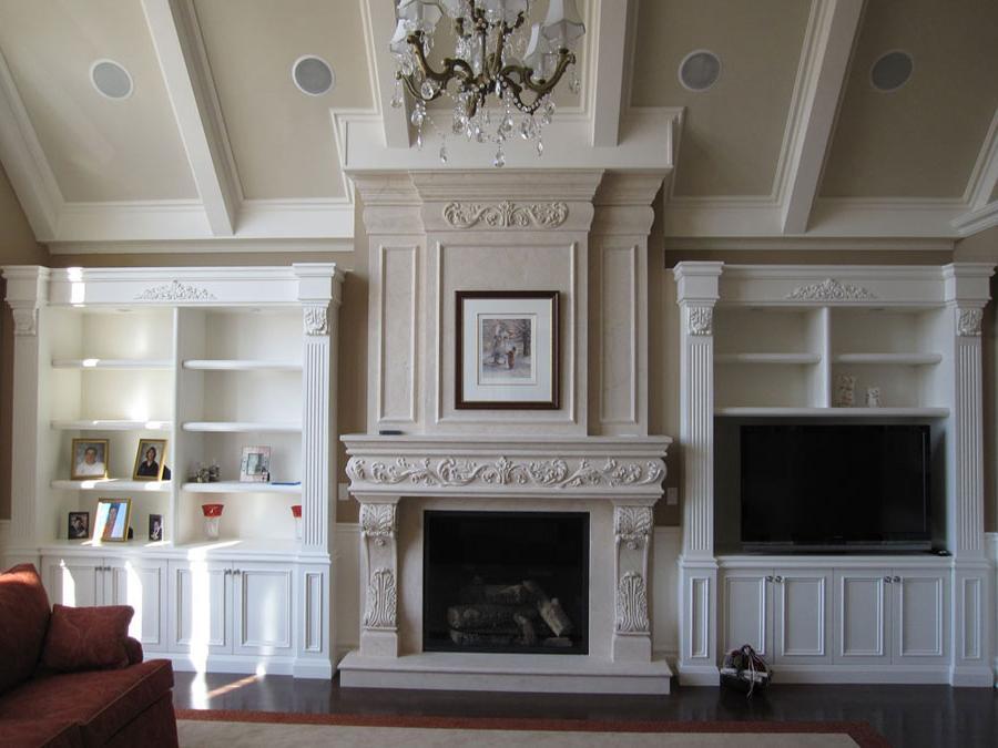 decorative fireplace mantel ideas