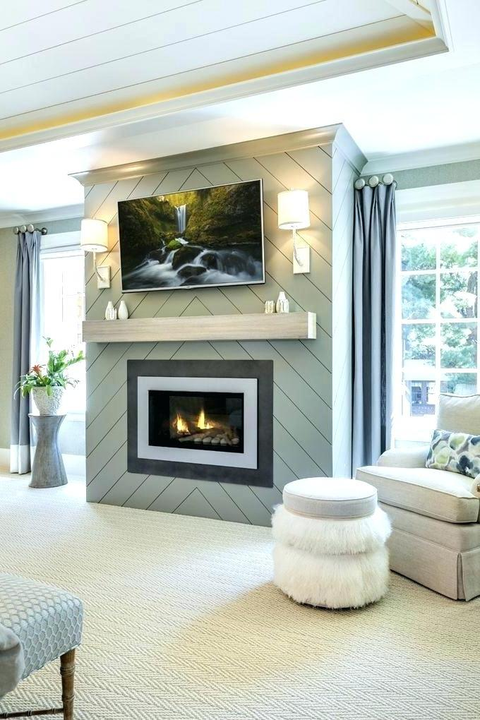 faux fake fireplace for bedroom decoration