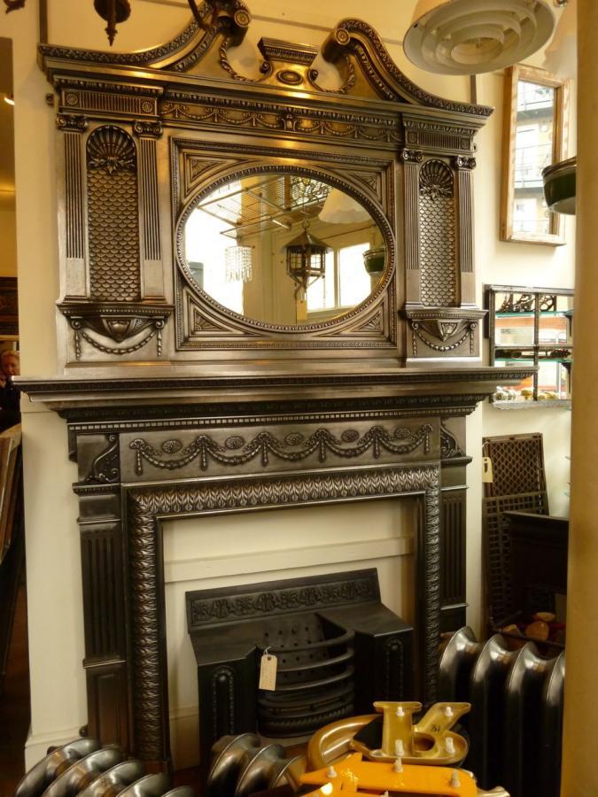 retro victorian fireplaces