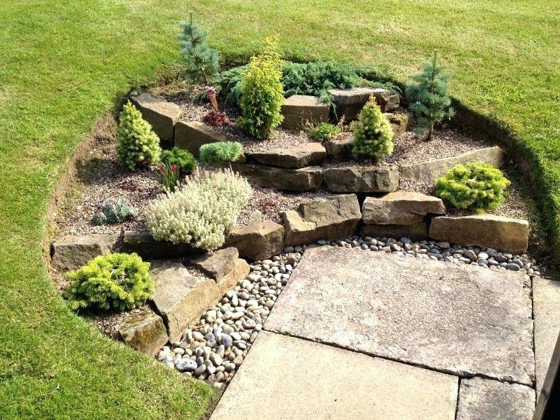 rockery small garden ideas