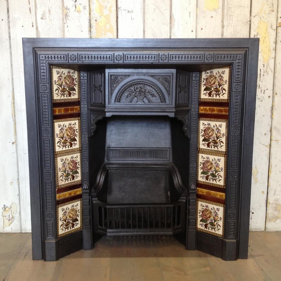 vintage Victorian fireplace
