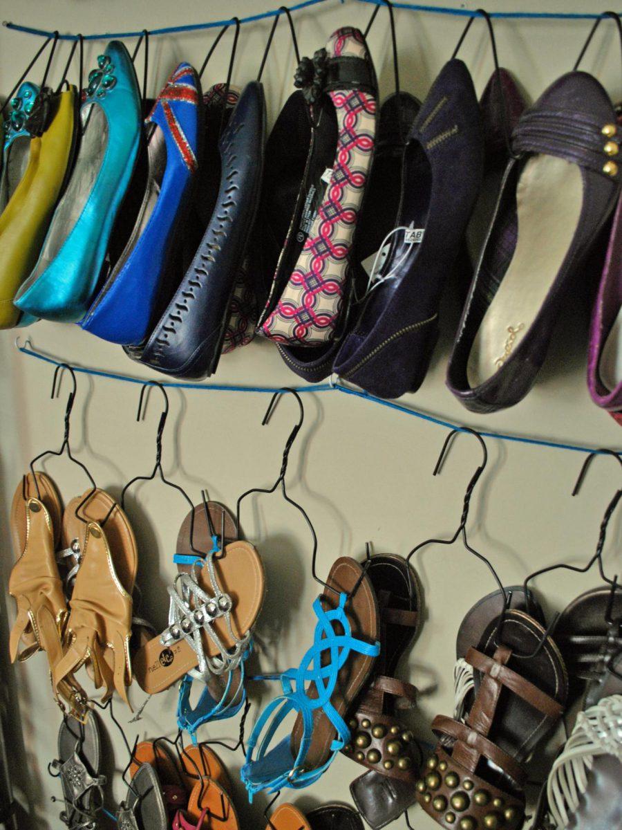 Efficient Shoe Hangers