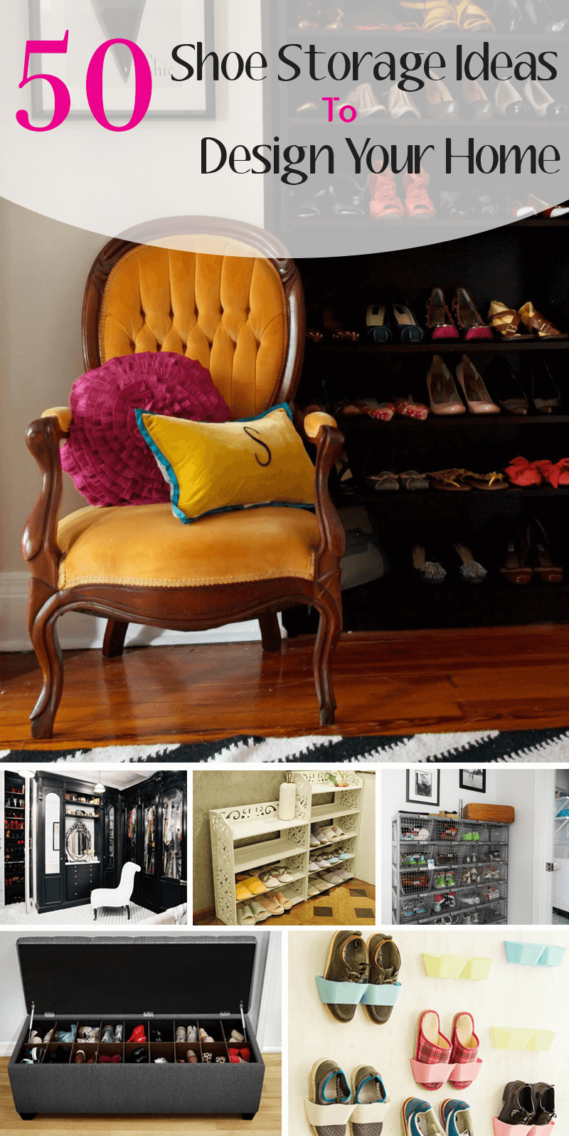 shoe storage ideas and designs