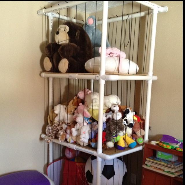 Animal toy storage ideas