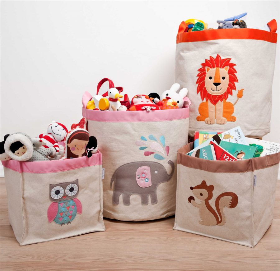 Bags toy storage ideas