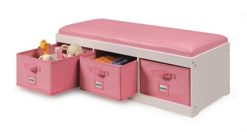 Bench toy storage ideas
