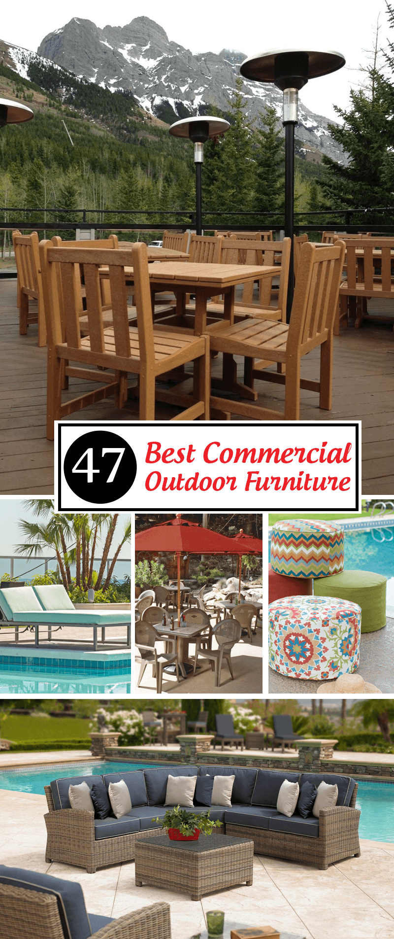 Best Commercial Outdoor Furniture