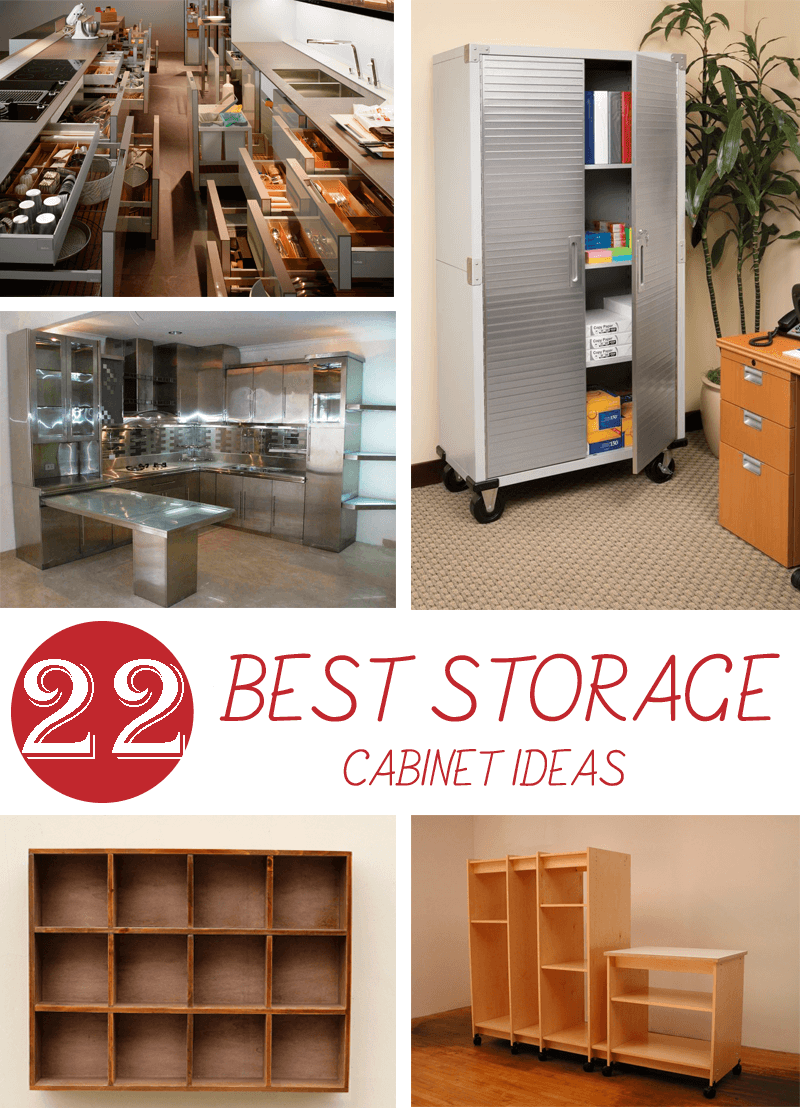 Best Storage Cabinet Ideas