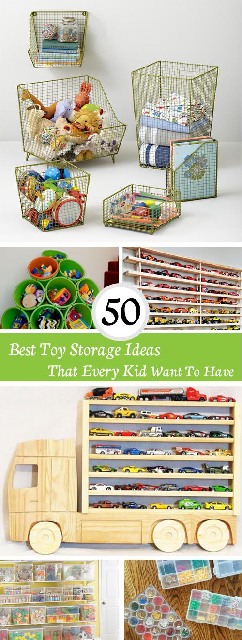 Best Toy Storage Ideas