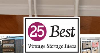 Best Vintage Storage Ideas