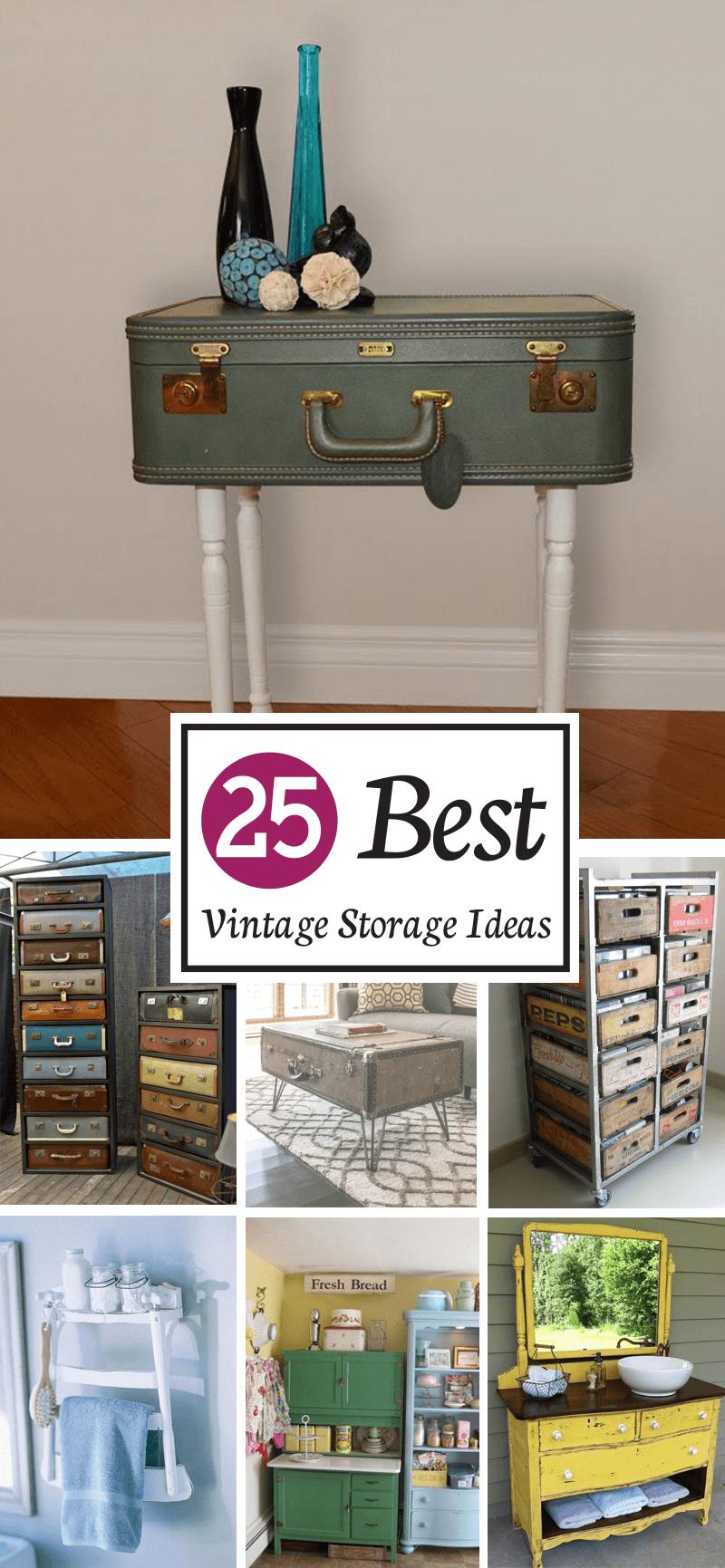 25 best vintage storage ideas - interiorsherpa 25 Storage Ideas