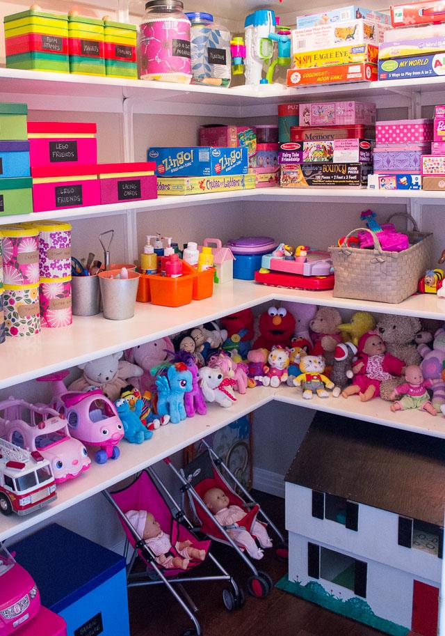 Inbuilt toy storage ideas