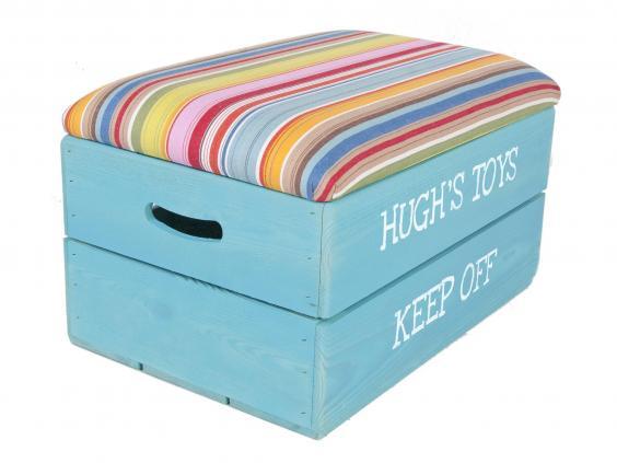 Stool toy storage ideas