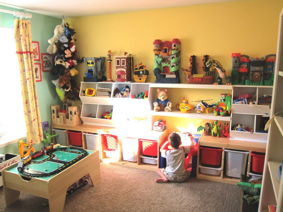 Toy storage ideas for boy's bedrooms