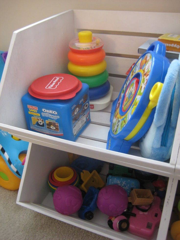 Toy storage ideas for two year old kids
