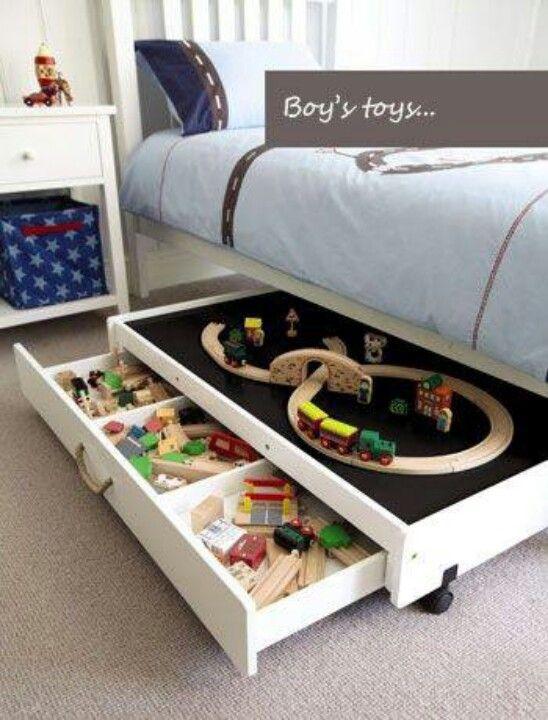 Under bed toy storage ideas