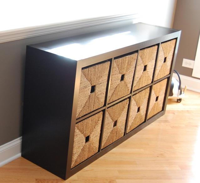 Wooden toy storage ideas
