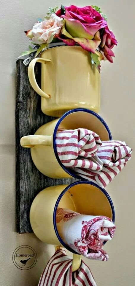 cups to storage item