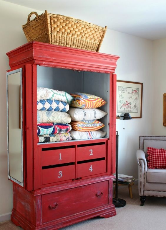 storage for quilts