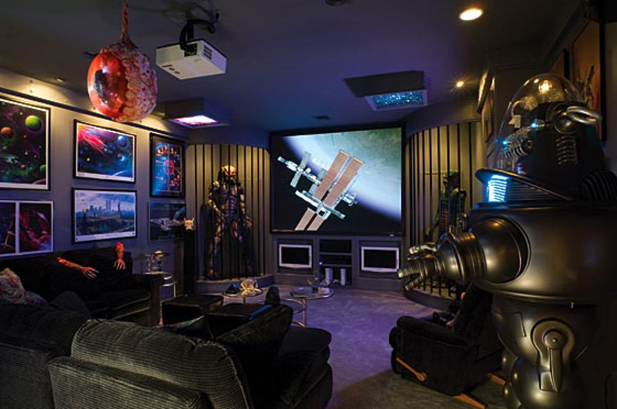 Aliens Home Cinema Room Design