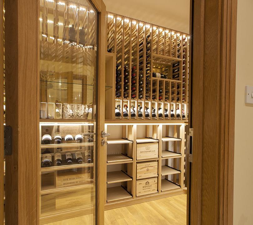 American Style Wine Cellar