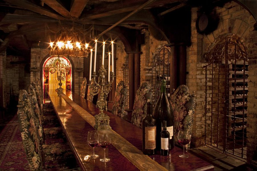 Antique Wine Cellar Design