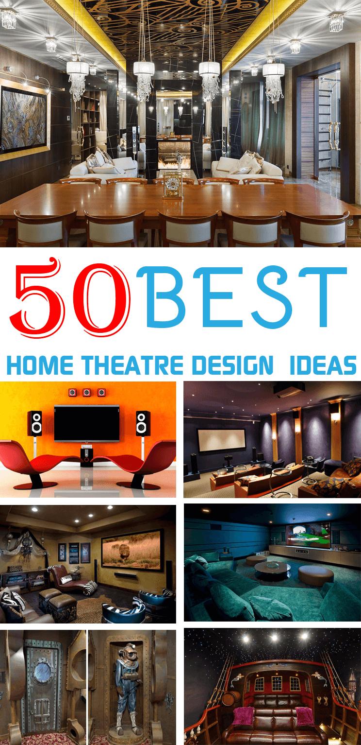 Best Home Theater Design Ideas