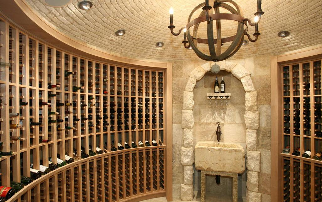 Custom Spherical Wine Cellar