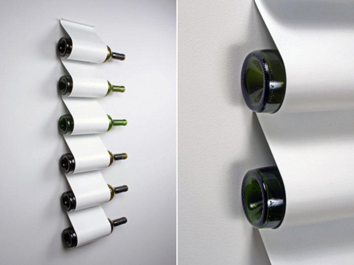 DIY Wine Storage Design