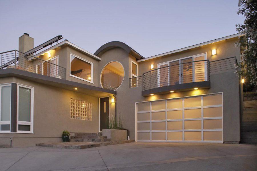 Modern Aluminum Garage Doors