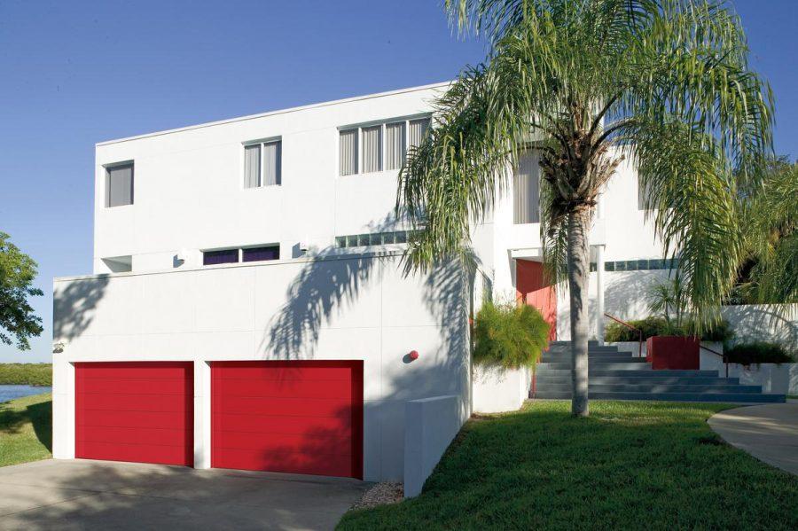 Red-Garage-Door-Panel
