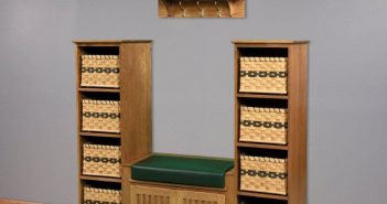 Solid-Wood-Storage-Bench-Set-For-Entryway-Decoration