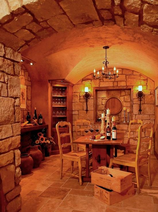Traditional Wine Cellar