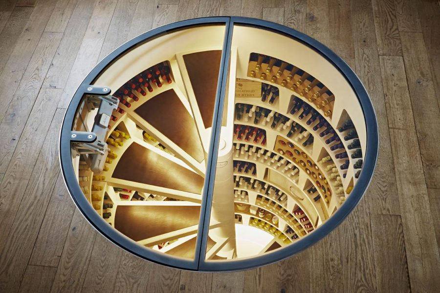 Unique Spiral Wine Cellar