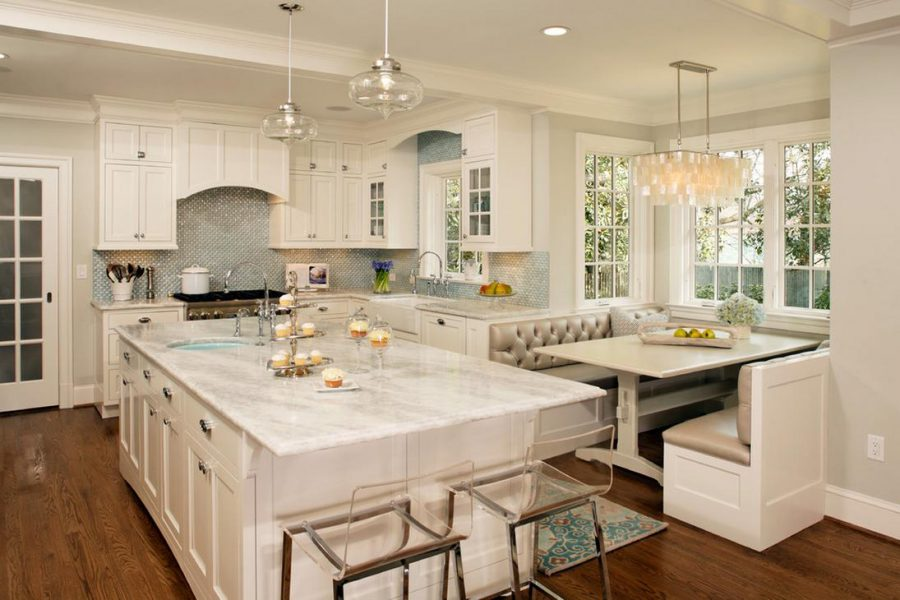 White Refacing Kitchen Cabinets