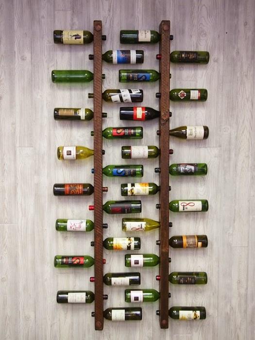 Wine chessboard