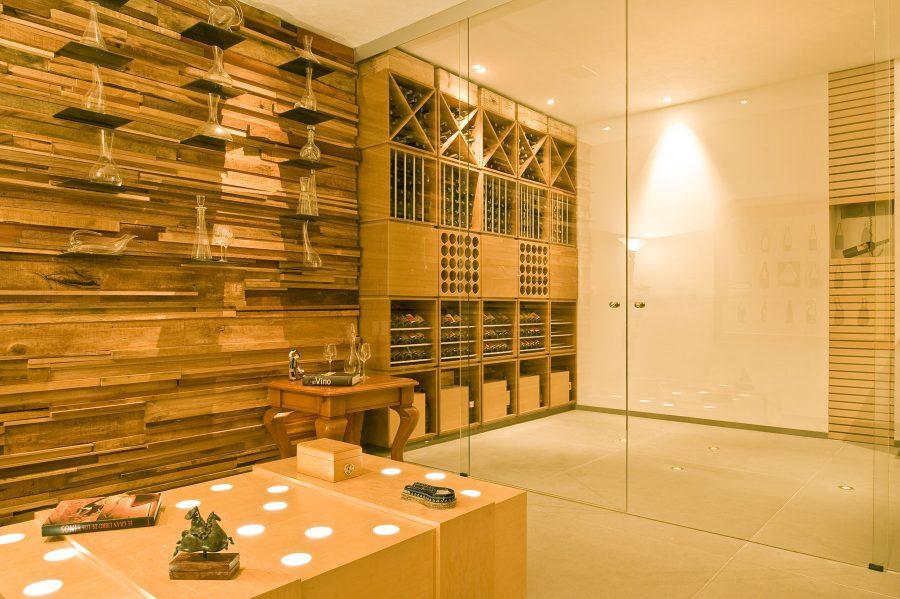 Wood Bottle Storage Rack Ideas