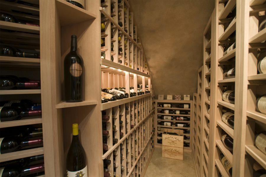 Wooden Rack For Wine Storage