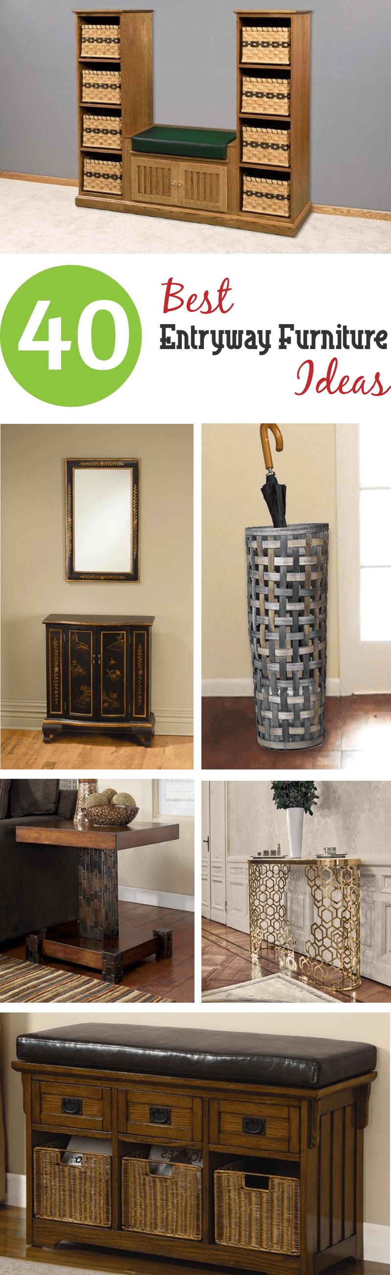 best entryway furniture