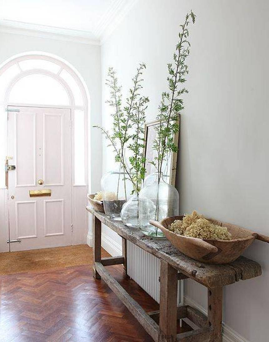 entryway hallway furniture with mirrors