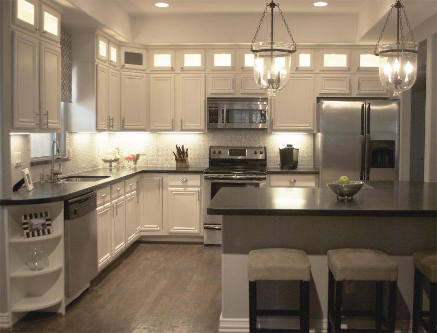 kitchen remodel ideas black granite