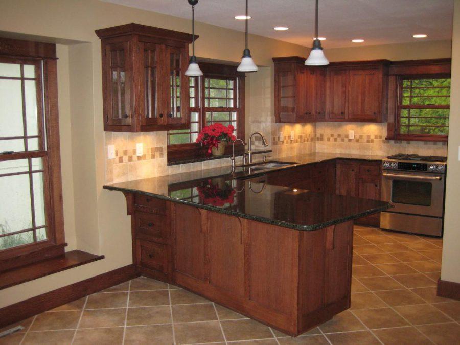 oak kitchen cabinet remodel ideas.