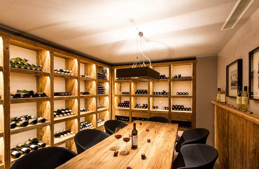 small room wine cellar for home