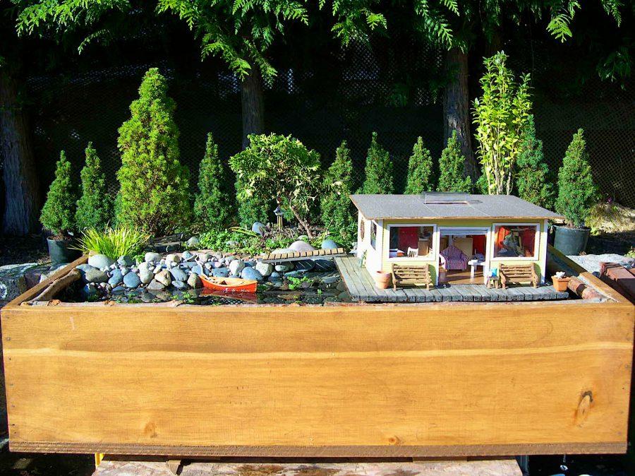 Pallet Fairy Garden