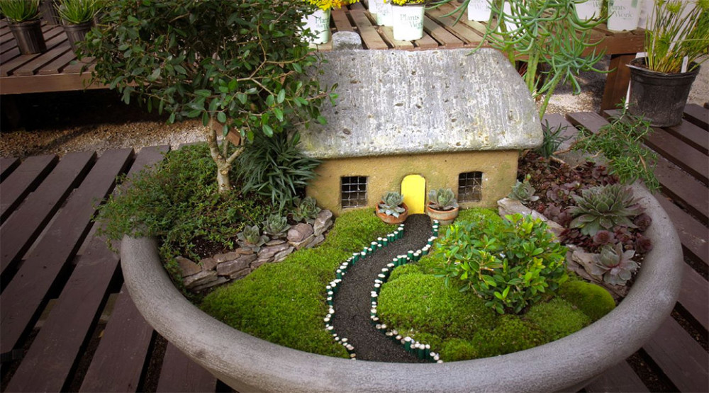Traditional House With Pathway