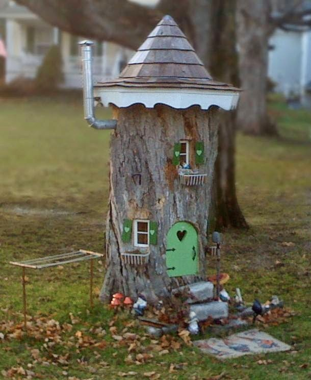 Tree Castle Decor